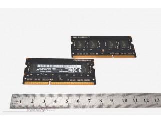 2 x 4GB Micron PC3-12800 DDR3L-1600 SO-DIMM RAM Kit