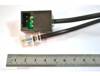Reichle Adapter TT87 auf RJ45 Kabel