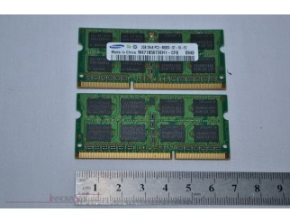 2 x 2GB Samsung PC3-8500S DDR3-1066 SO-DIMM RAM Kit
