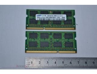 2 x 2GB Samsung PC3-8500S DDR3-1066 SO-DIMM RAM Kit