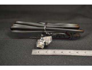Telefonkabel Analog Norm 4 adrig schwarz
