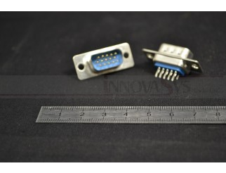 VGA - Stecker 15 polig zum Löten